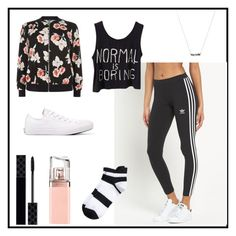 """""""Untitled #34"""" by toasumjas ❤ liked on Polyvore featuring New Look, adidas Originals, Converse, Gucci and HUGO"""