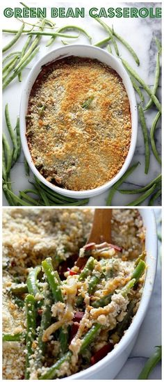 Gourmet Green Bean Casserole with Bacon, Gruyère, and Caramelized Onions - A MUST make this holiday season!