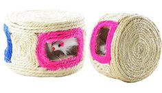 Cat Desk Fun Play Kitten Feline Scratcher Box Mice Inside Toy ** Be sure to check out this awesome product.