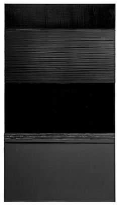 <strong><em>Pierre Soulages</em></strong> includes fourteen recent paintings from the artist's ongoing <em>Outrenoir </em>series—metaphysically potent canvases with slashing black architectonics—alongside seminal works created in the 1950s and 60s, all on loan from major museums and important private collections.