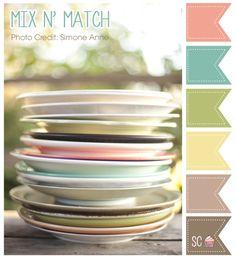 Mix N' Match Color Palette - Inspire Sweetness  http://inspiresweetness.blogspot.com/2013/11/mix-n-match-color-palette.html
