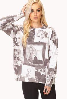 Marilyn Monroe Sweatshirt | FOREVER21 - 2000111471