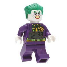 Un réveil Lego Le Joker, pour faire frémir de terreur notre entourage !