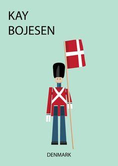 Kay Bojesen Royal Guardsman Print!