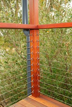 Cable deck railing using Home Depot stuff by priscilla ...