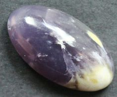 Jasper Rocks Found in Oregon | 22.00 CTS LAVENDER JASPER CABOCHON STONE FROM OLD COLLECTION