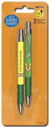 It's Happy Bunny - Mechanical Pencils - 2pk