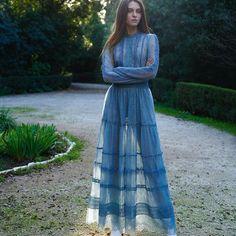 Pre-fall 2018 #rtw Collection. #costarellos #prefall18 #prefall2018 #pfw #parisfashionweek #paris #fashionweek #dress