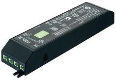 Hafele 833.77.900 24 Volt Driver 0.5 to 15 Watts with 6 Green Ports Black Indoor Lighting Under Cabinet Accessories