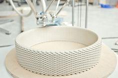 olivier van herpt develops technique for 3D printing large and medium scale ceramics