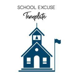 Disney World School Excuse Template