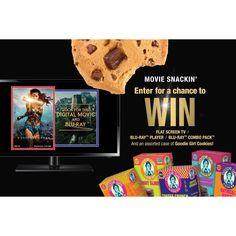 Friday the 13th could be your LUCKY Day!  Have you entered for a chance to win a flat screen TV | Blu-ray (TM) Player | Wonder Woman Blu-ray Combo Pack and a case of  gluten-free Goodie Girl Cookies?  Enter Today: http://www.goodiegirlcookies.com/wonderwoman