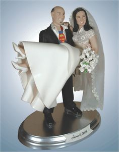 Jan Wedding Cake Topper Super Expensive Realistic