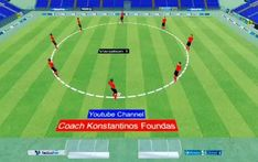 Fun Soccer Drills, Football Coaching Drills, Soccer Workouts, Soccer Gear, Passing Drills, Sports Training, Tottenham Hotspur, Training, Workout Circuit
