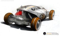 buggy concept car sketch - Buscar con Google
