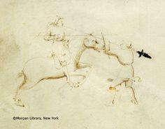 Il fior di battaglia / Fiore dei Liberi, MS M.383 fol. 8v - Images from Medieval and Renaissance Manuscripts - The Morgan Library & Museum