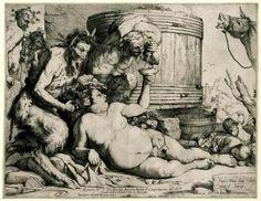 José de Ribera. Sileno ebrio. 1628.