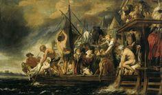Jacob Jordaens - Het wonder van de stater in de bek van de vis 1630c