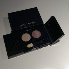 Estée Lauder eye shadow duo Ⓜ️ Never been used. Never been used. Each color pallet in a perfect condition with sponge applicator.  Comes in a Estée Lauder box packaging.  Also on Ⓜ️. Estee Lauder Makeup Eyeshadow