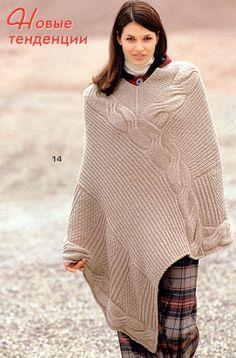 great ponchos for women | Free Knitting Patterns