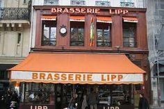 Ernest Hemingway La Brasserie Lipp