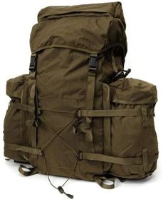 SnugPak Bergen Backpack, Olive, 100L - 92191 - Range Bags & Backpacks