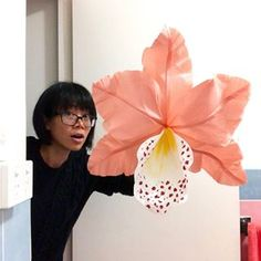 Orchid Prototype. I'm excited to show you coz I haven't made a big flower for such a long time. It was heaps fun!