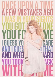I Knew You Were Trouble - Taylor Swift ~ I really like this song, but the music video (just released) is so obnoxious! It's weird and confusing! This song is rumored to be about Harry Styles, and I don't know much about him, but he dosen't seem as bad as she says. I think she took it WAY too far!