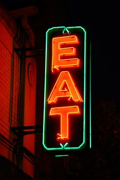 Neon sign Eat - Neon sign - Wikipedia, the free encyclopedia
