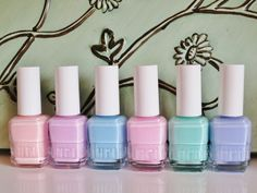 Duri Once Upon a Dream Collection--soft pretty shades. Click thru for pics, swatches and review!!