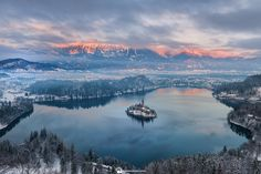 """Never get tired... - ...of this wonderful view!  <p>Join my <a title=""""Slovenia winter photo workshop"""" href=""""http://lukaesenko.com/tours-workshops/slovenia-winter-photo-workshop/"""">Winter photography workshops</a> to Lake Bled and Julian Alps.</p>   <p>This location is part of <a title=""""Snapp Guides"""" href=""""http://apple.co/1V0k2r3"""">Snapp Guides</a> - Destination guides app for photographers.</p>    <p>Download the app to your iPhone and look for """"Lakes Bled & Bohinj"""" guide to get the most i..."""
