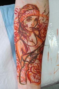 Chris 'Crispy' Lennox #ChrisLennox #Tattoos