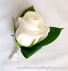 white-rose-buttonhole