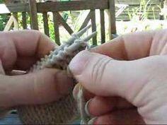 Sømme - maskesting på aflukket arbejde - PaaPinden.dk - YouTube Knitting Stitches, Knitting Patterns, Sting, Hobbies And Crafts, Tejidos, Creative, Knit Stitches, Cable Knitting Patterns, Knit Patterns