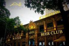 Thi công vách ngăn vệ sinh compact cho Kingdom beer club Beer Club, Karaoke, San Francisco Ferry, Broadway Shows, Building, Travel, Viajes, Buildings, Trips