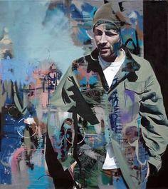 Conor Harrington - I Support Street Art Graffiti Art, Art And Illustration, Illustrations, Portrait Art, Portraits, Figurative Kunst, Urbane Kunst, Kunst Online, Unusual Art