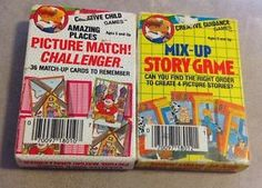 """Creative Child Games """"Picture Match! Challenger - Amazing Places"""" and """"Mix-Up Story Game"""" card games Preschool Toys, Creative Kids, Amazing Places, Games For Kids, Maid, Card Games, The Good Place, Children, Games For Children"""