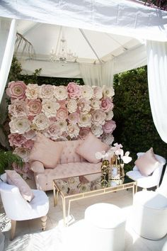 Pink-And-Gold-Tutu-Cute-Baby-Shower-VIP-Seating (outdoor birthday games baby shower)