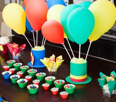 Festa Patati Patatá Pearl Birthday Party, Prince Birthday Party, Rainbow Birthday Party, Golden Birthday, Carnival Birthday Parties, Circus Birthday, Circus Party, 1st Boy Birthday, Birthday Party Themes