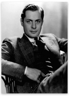 """Robert Montgomery~~~ Make sure to watch """"Mr. Jordan"""" next chance you get... You'll never forget Robert Montgomery!"""