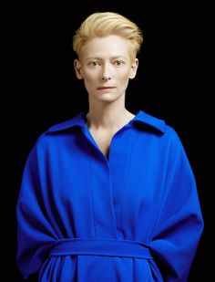 inspiration for www.duefashion.com  Tilda Swinton photographed by peter hapak for the room #14