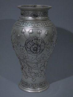 Gorham Sterling Silver Vase 1917