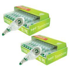 Tombow-Mono-Hybrid-Correction-Tape-20-Pack-White-New-FREE-Shipping