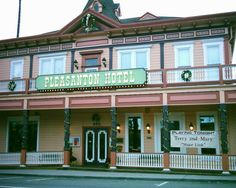 Pleasanton Hotel...I miss driving by this all the time.