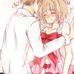 Syaoran and K Sakura - Cardcaptor Sakura) Manga Couple, Anime Love Couple, Cute Anime Couples, Cardcaptor Sakura, Syaoran, Anime Comics, Manga Romance, Sakura Card Captors, Xxxholic