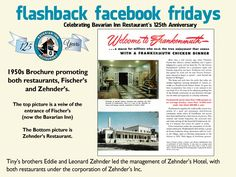 Each week during 2013, we will feature a flashback photo and share our history. Please share these weekly postings with your friends and family and join us in celebrating our 125th anniversary.  Week-14 Zehnder Family Continues Tradition