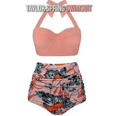 Bikini Push Up, Bikini Rose, Bikini Sets, Haut Bikini, Bikini Swimsuit, Bikini 2018, Plunge Bikini, Vintage Swimsuits, Two Piece Swimsuits