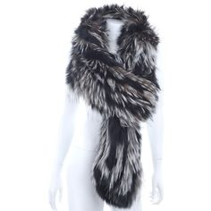 Pre-owned Fur Bolero (€210) ❤ liked on Polyvore featuring outerwear, jackets, black, fur bolero, fox fur jacket, fur bolero jacket, bolero jacket and fox jackets