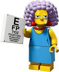 LEGO Minifigures Simpson 2 - Selma #lego #minifigure #minifigures #simpson #simpsons #legosimpson #legosimpsons