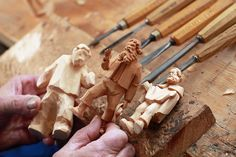 Oberammergau, Germany woodcarving tradition